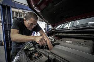 Auto Anlasser defekt