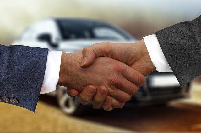 Auto inzahlung geben