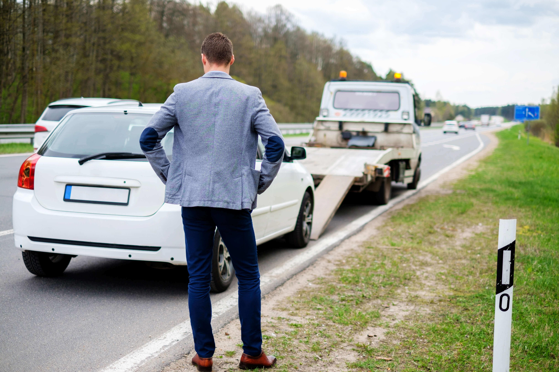 Defektes Auto verkaufen - mit Motorschaden stehen geblieben